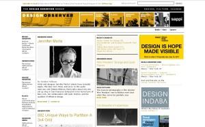 Design Observer Website